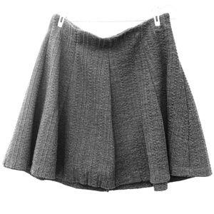 Zara girls gray skirt
